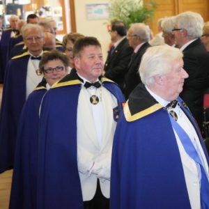 Les dignitaires d'autres bailliages et du bailliage accueillant