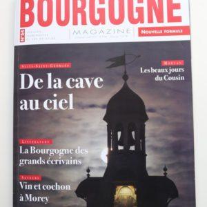 La Confrérie dans la revue BOURGOGNE Magazine