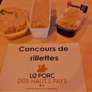 Concours régional de Rillettes et de Boudin Blanc