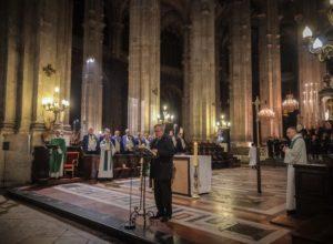 211ème Messe du Souvenir des Charcutiers-Traiteurs à l'église Saint Eustache à Paris